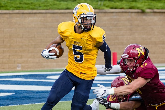 Avram Tynes Named Nsic Special Teams Player Of The Week Augustana